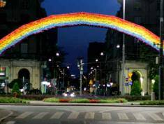 'Tolerance Rainbow' torched once again