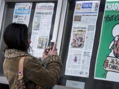 Charlie Hebdo goes on sale in Poland