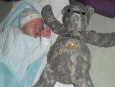 Polish soldier names son after US saviour