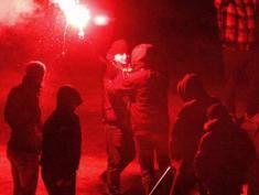 Miners' protest turns violent