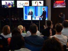 Presidential candidates attend TV debate