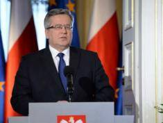 Komorowski to call for permanent NATO presence