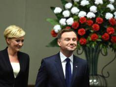 Duda sworn in as President
