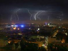 Violent storms hit Poland
