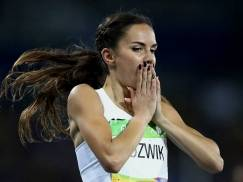 Joanna Jozwik claimed that she feels like a silver medallist