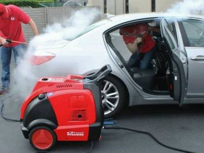 Ecological steam wash - great business idea