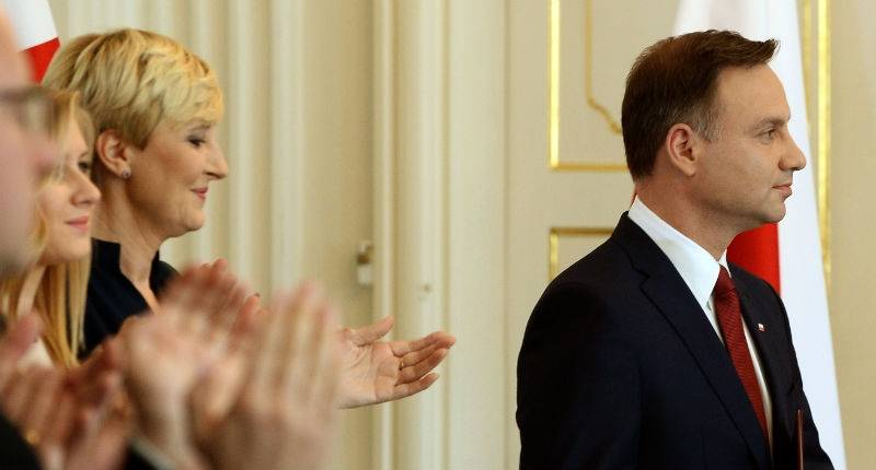 Duda reaches out to transatlantic guests