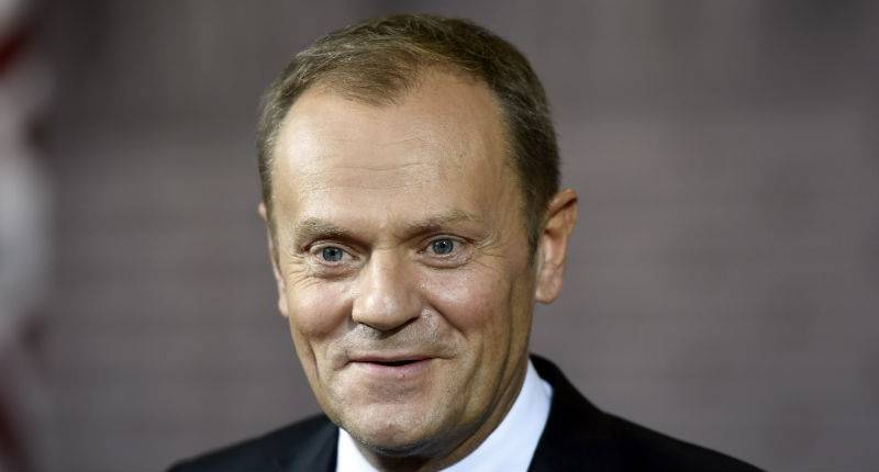 EuCo President Tusk talks about govt resignations