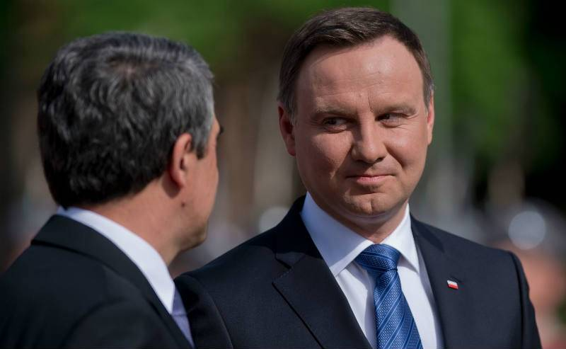 Clinton 'grossly misled' on Polish issues: President Duda