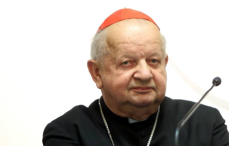 Polish cardinal briefs pope on World Youth Day
