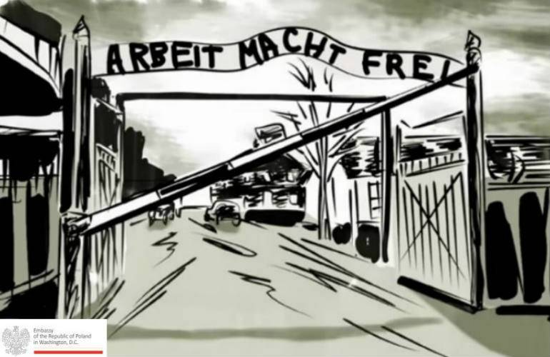 """Words matter"" -  Polish Embassy launches campaign against ""Polish camps"" [video]"